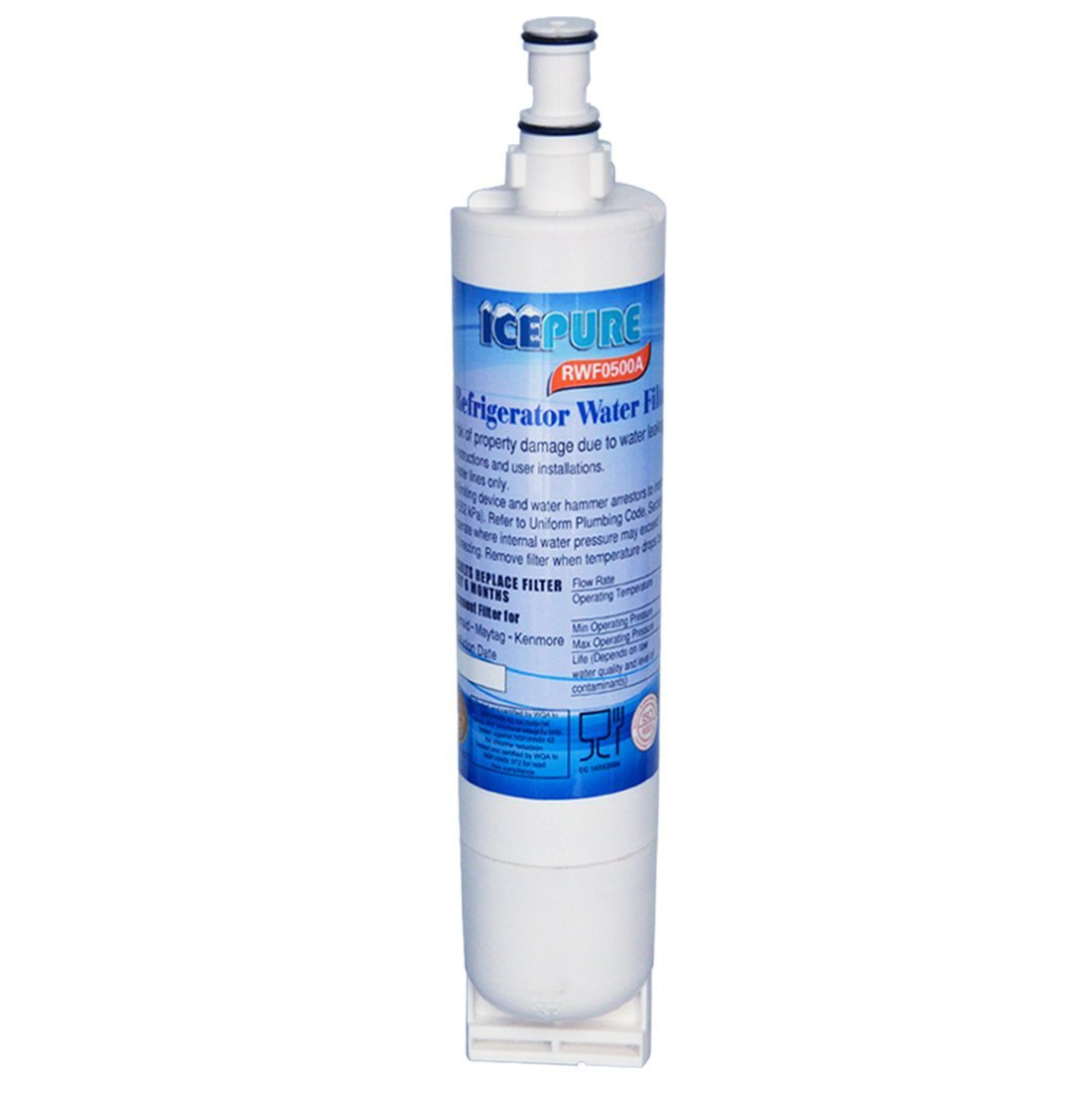 Icepure 4396508 Replacement Refrigerator water filter for Whirlpool 4396508, 4396510,Filter 5,EDR5RXD1,NL240V,WFL400, Refrigerator Water Filter,1PACK