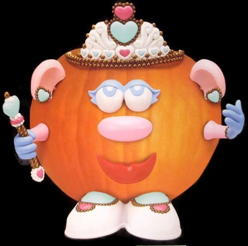 Mr. Potato Head Princess / Queen Pumpkin Push Ins -