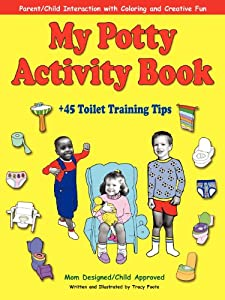 My Potty Activity Book +45 Toilet Training Tips