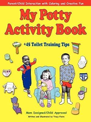 My Potty Activity Book +45 Toilet Training Tips