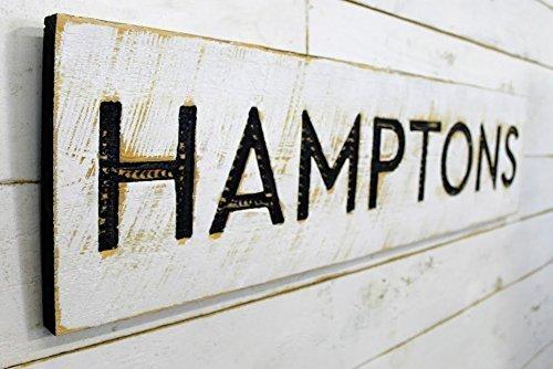 Hamptons Sign Horizontal - 40