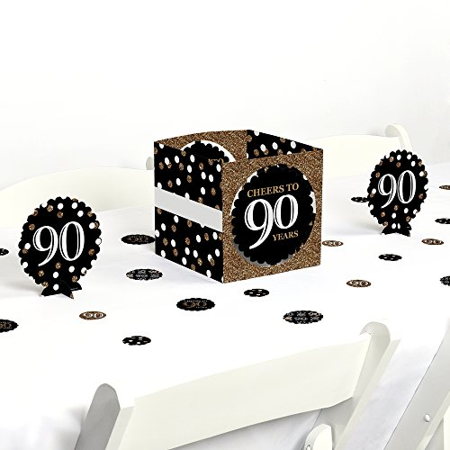 Big Dot of Happiness Adult 90th Birthday -
