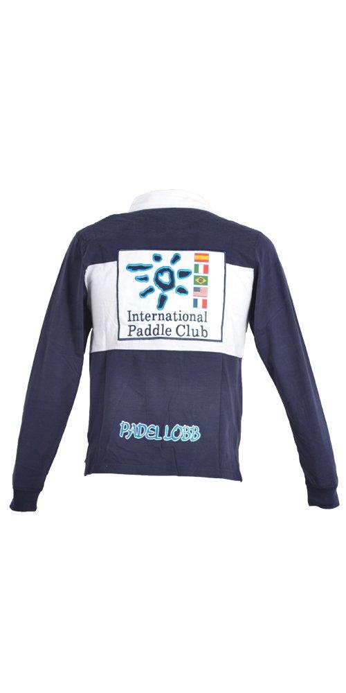 Padel Lobb - Polo banderas, talla l , color marino: Amazon ...