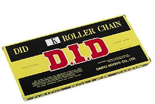 D.I.D 428 STD Standard Series Non O-Ring Chain 112 Links Natural D18-429-112