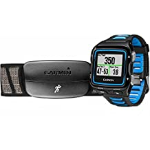 Garmin Forerunner 920XT GPS Watch Black/Blue Bundle