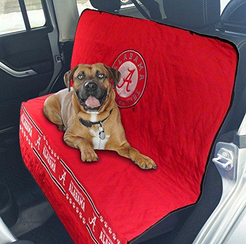 Pets First Collegiate Alabama Crimson Tide Pet Car Seat Cover