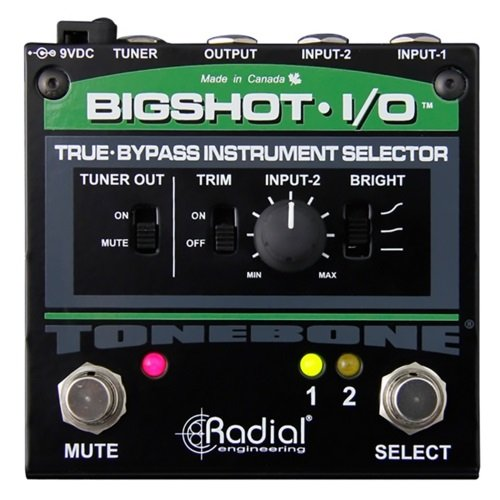 Radial BigShot I/O True Bypass Selector Switch by Radial Engineering