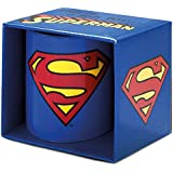 Superman Logoshirt–Tazza DC Comics Logo tazza da caffè–blu–Design originale concesso su licenza