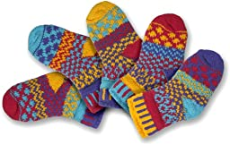 Solmate Socks, Mismatched Baby socks for girls or boys, Firefly Small