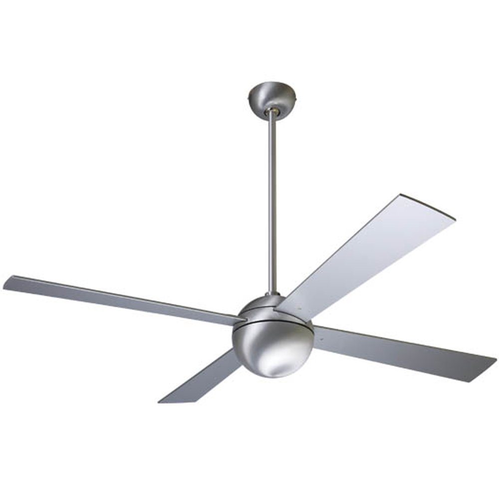 Modern Fan Company 42'' Ball Brushed Aluminum Ceiling Fan With Wall Control