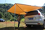 Batwing Awning Side Rooftop Tent Sun Shelter