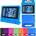 AutumnFall Kids Shock Proof EVA Handle Case Cover for Amazon Kindle Fire HD 7 2015 from AutumnFall®