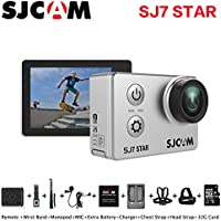 Sport Action Camera, Newest Original SJCAM SJ7 Star 1080P Action Cam Waterproof Sport DV Camera, Silver