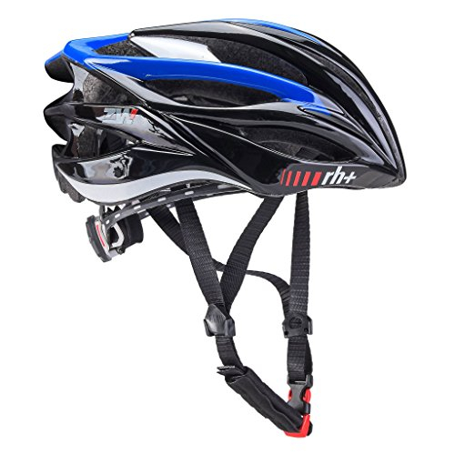 zerorh+ Zero RH+ ZW Casco Strada Shiny Black/Shiny Blue/Shiny White (54-58)