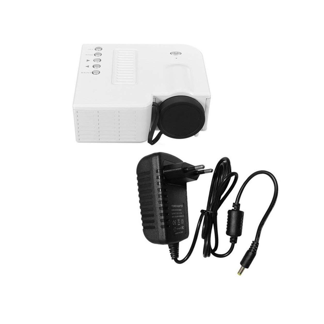 UC28B Mini Proyector LED portátil 1080P Multimedia Cine en casa ...