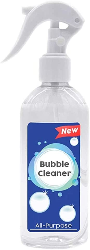 Kitchen Grease Bubble Cleaner, Multi-Purpose Foam Cleaner, Ultra Cleaning Solution, Adsorption of Dirt, Anti-damage Coating,Fresh Scent (A)
