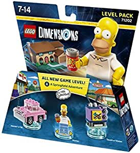 LEGO Dimensions - The Simpsons - Level Pack by Warner Bros. Interactive Entertainment: Amazon.es: Videojuegos