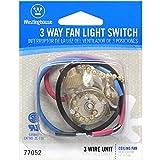 Westinghouse Lighting 3 Way Fan Light Switch