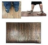 Natural Bamboo Floor Mat - Elegant Bath