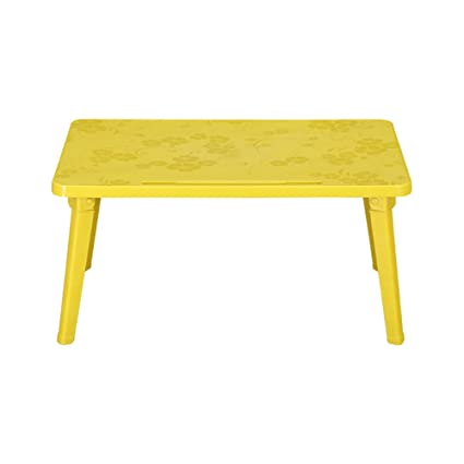 Folding table YXX- Small Plastic Desks 4ft Portable Outdoor Square Foldable  Kitchen & Dining Table - Amazon.com : Folding Table YXX- Small Plastic Desks 4ft Portable