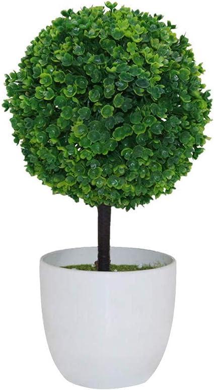 Numero 3 Vosarea Pianta Artificiale simulata Pianta Decorativa Finta Artificiale Finta per Giardino Domestico