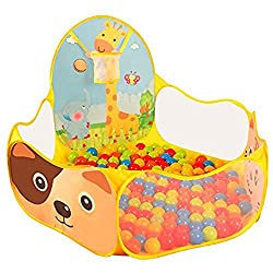 BATTOP Kids Ball Pit Pool Tent With Tote Bag Indoor and Outdoor
