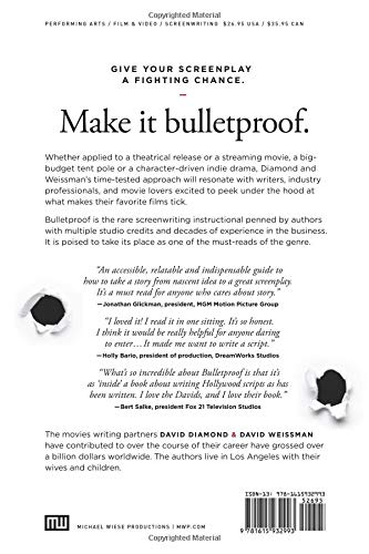 Bulletproof: Writing Scripts that Don't Get Shot Down: David