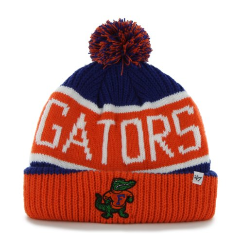 NCAA Florida Gators Calgary Cuff Knit Hat, One Size, Royal