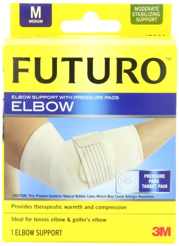 Futuro Elbow Support with Pressure Pads, Medium