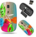 Liili Wireless Mouse Travel 2.4G Wireless Mice with USB Receiver, Click with 1000 DPI for notebook, pc, laptop, computer, mac book toys for childrens sandboxes against the sea and the beach 28412835