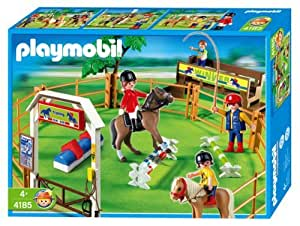 Amazon.com: Playmobil Pony Ranch - Dressage: Toys & Games