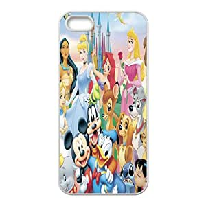 Disney Cartoon Character Case Cover For iPhone 5S Case