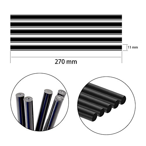 JMgist PDR Puller Tabs Dent Repair Tools Hot Melt Glue Sticks Set for Car Dent Paintless Removal Kit 29pcs by JMgist (Image #4)