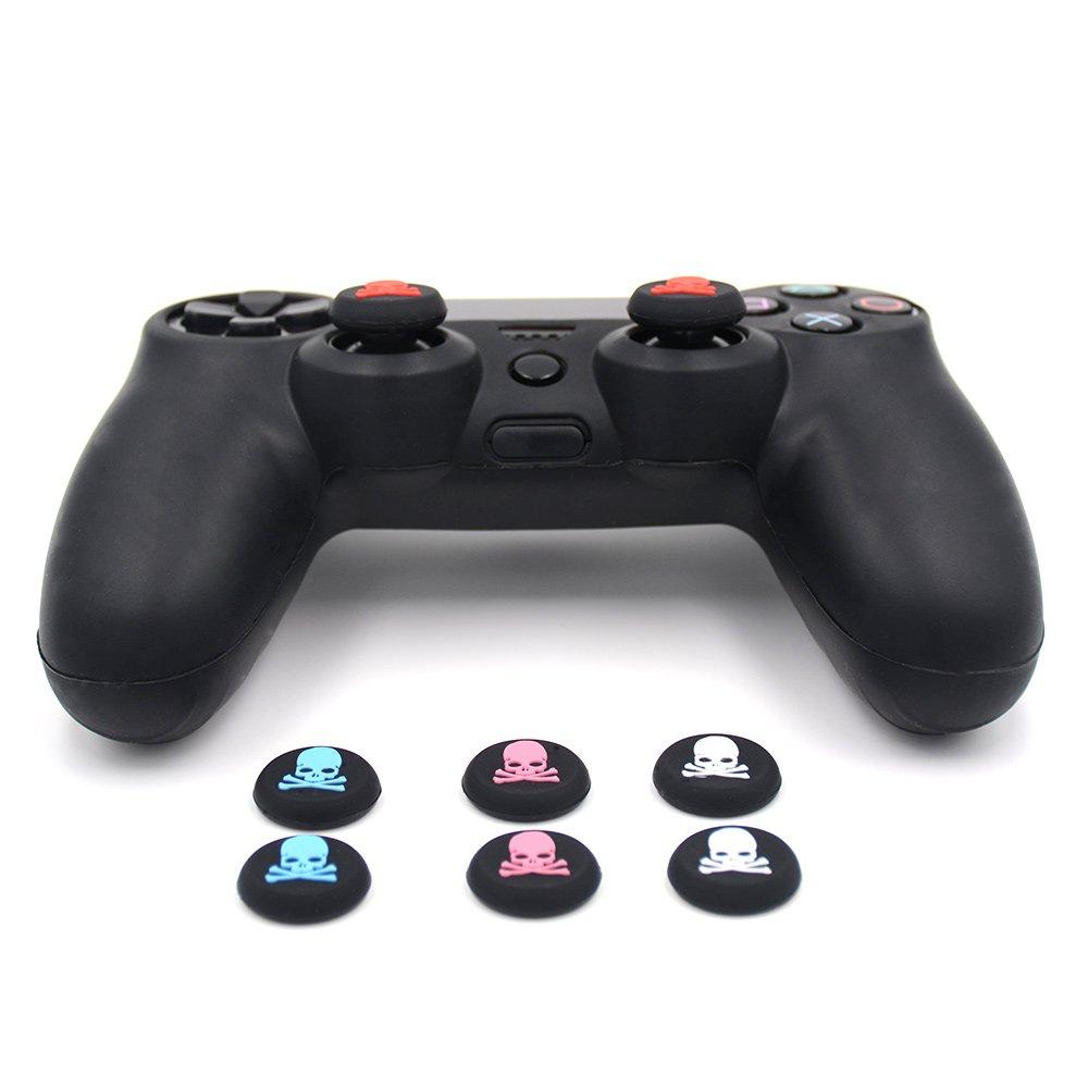 eSeeking - Carcasa de Silicona para Sony PS4, PS4 Slim, PS4 ...