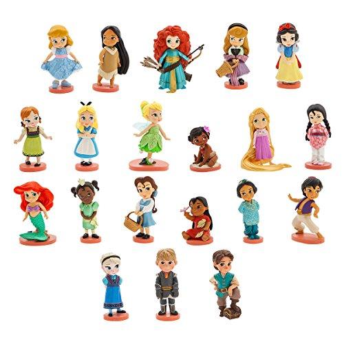 Disney's Animators' Collection Mega Figure Set- 20 pieces with Display Box Disney Store