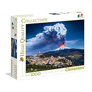 Clementoni 39453 High Quality Collection Puzzle Etna 1000 Pezzi