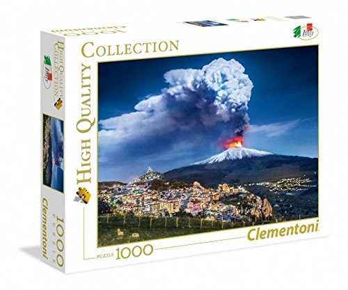Clementoni 39453 High Quality Collection Puzzle Etna 1000 Pezzi