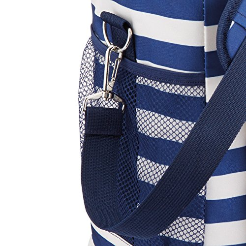 12 L 2.5 Gal Kitchencraft we Love Summer Nautical-striped Medium Cool Bag