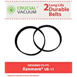 2 UB-11 Drive Belts for Kenmore Upright Vacuums; Compare to Kenmore Part No. 1860140600; Designed & Engineered by Think Crucial