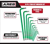 ARES 70166-13-Piece Extra Long Arm Star Key