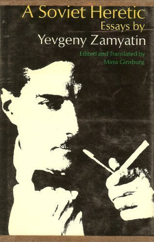 """zamyatin analysis """"[zamyatin's] intuitive grasp of the irrational side of totalitarianism — human sacrifice, cruelty as an end in itself — makes [we] superior to huxley's [brave new world]"""" —george orwell."""
