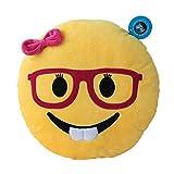 DolphineShow 32cm Round Cute Emoji Pillow Emoticon Cushion Toy