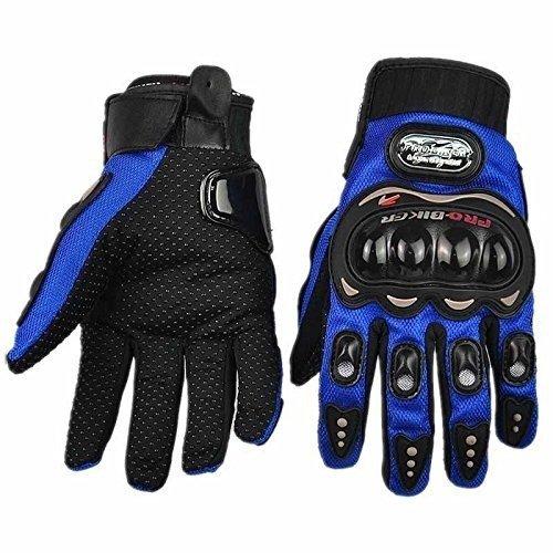 Carbon Fiber Blue Motorcycle Accessories Motorbike Powersports Racing Gloves Street Bike Gender:...