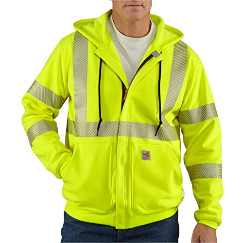 - Carhartt Men's Big & Tall Flame Resistant Heavyweight High Visibility Sweatshirt,Brite Lime,XXXX-Large Tall