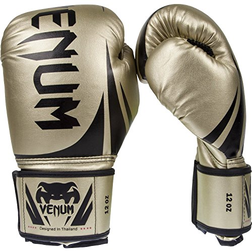 Venum Challenger 2.0 Boxing Gloves - Gold - 16-Ounce