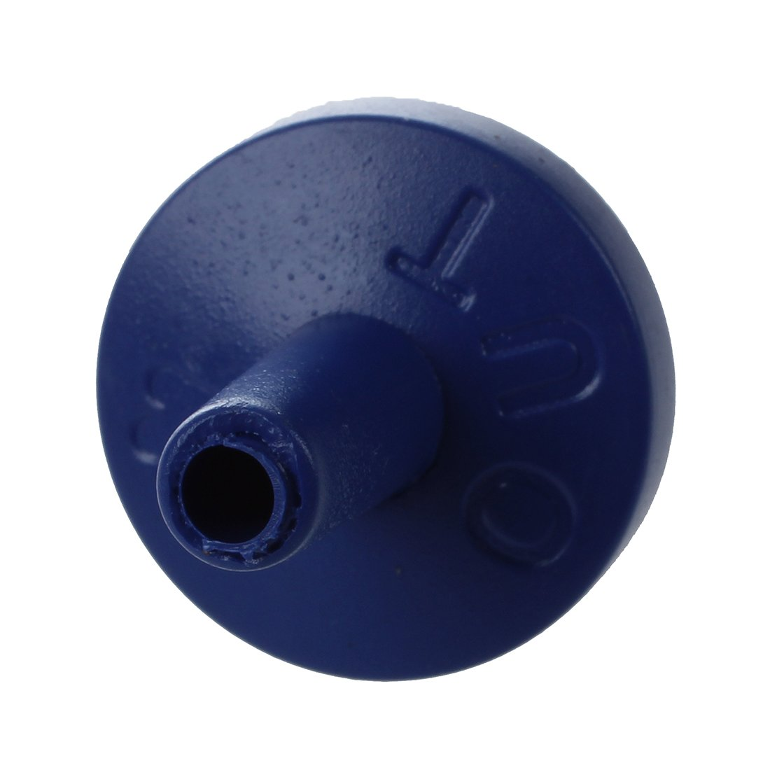 SODIAL 4 pezzi 3 millimetri Diametro interno in plastica dura unidirezionale Valvola blu scuro unidirezionale Valvola R