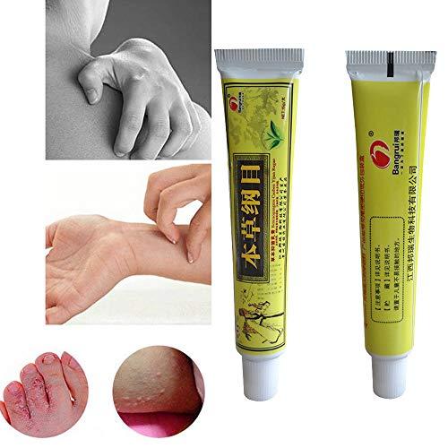 Creazy Chinese Herbal Eczema Psoriasis Creams Dermatitis And Ecze (2pcs) by Creazydog Cream (Image #5)