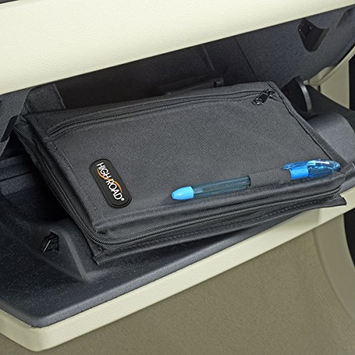 High Road Glove Box Organizer And Car Registration Holder
