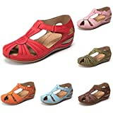 Women's Sandals Comfortable Ankle Hollow Round