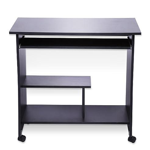Computertisch modern  Computertisch Modern Simpel Schreibtisch Hölzern PC Tisch mit ...